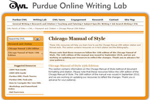 How to write a chicago style essay