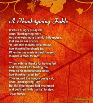 Thanksgiving poems 12