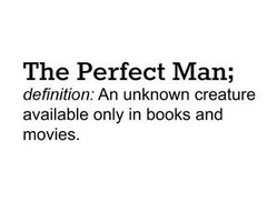 Tagged with the perfect man quotes