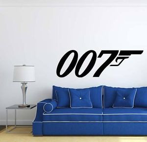 007-James-Bond-Quote-Movie-Wall-Decal-Sticker-QU21