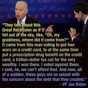 republican war Economy Election 2012 Recession Vice President joe ...