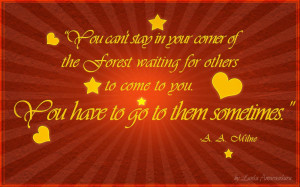 Quotes from pooh bear…