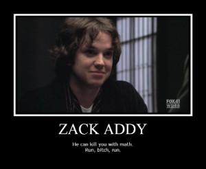Bones Zack Addy Quotes
