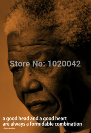 Free Shipping Nelson Mandela Quote Famous Quotes - Classroom ...
