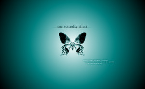 Butterfly Effect - Love Quote by anddthen