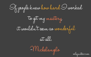 Michelangelo Picture Quote