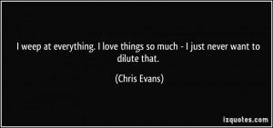 More Chris Evans Quotes
