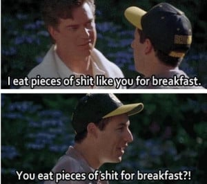... , 2014 November 28th, 2014 Leave a comment Movie Billy Madison quotes