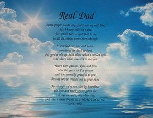 birthday step dad in heaven images   Real Dad