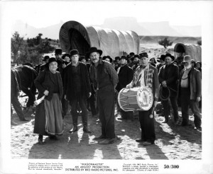 Still of Ward Bond, Harry Carey Jr. and Jane Darwell in Wagon Master ...