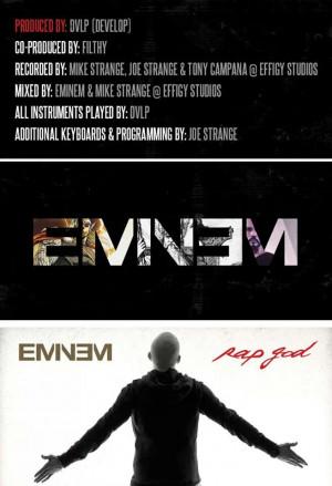 Текст нового трека Эминема — «Rap God»
