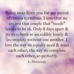 ... time #apart #sucks #complete #quote #boyfriend #girlfriend #together #