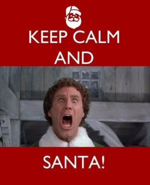 Elf/ Will Ferrel ~ SANTA!
