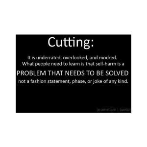 cutting tumblr quotes