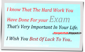 Important in Life | Best of Luck For Exams Greeting Pic