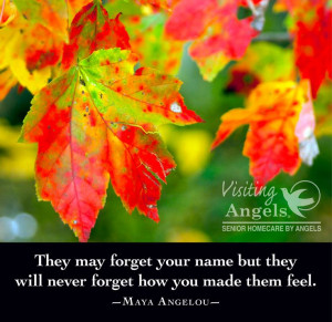 Perfect quote for those who care for those with Alzheimer's. www ...