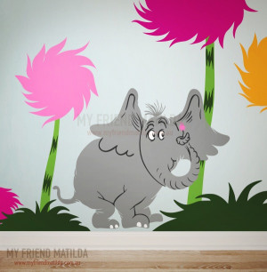 Image of Horton the Elephant - Dr Seuss Character