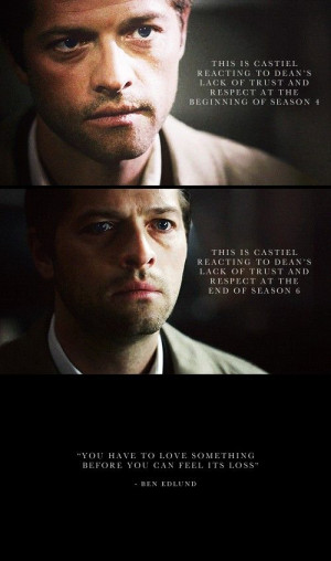 ... God? It's Me, Dean Winchester, 6x21 Let It Bleed, and Ben Edlund quote