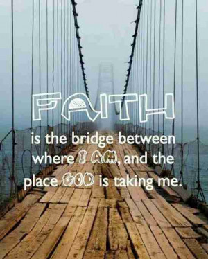 faith and love now faith is confidence in what we hope for and ...