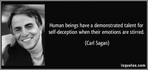 Self Deception Quotes
