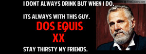 DOS EQUIS Profile Facebook Covers