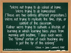Homeschool Quotes Series: Day 7