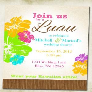 Home Invitations Bridal Shower