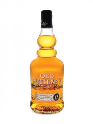 old pulteney 12 year single highland malt scotch whisky