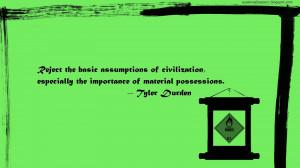 Assumptions Quotes Reject the basic assumptions