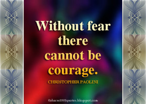 Inspirational Graphic Quotes about Fear