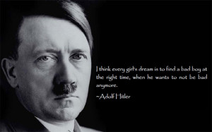 Taylor Swift gets attributed Hitler Quotes on Pinterest.