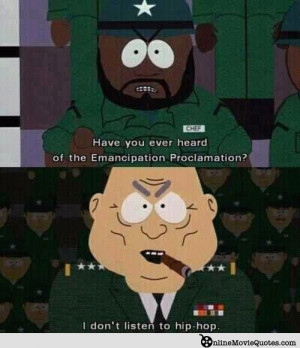 ... animated comedy movie South Park (free streaming with Amazon Prime