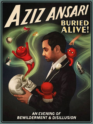 Aziz Ansari Quotes Comedian aziz ansari brings