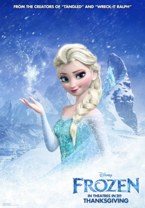 Frozen Elsa Snow Queen Poster