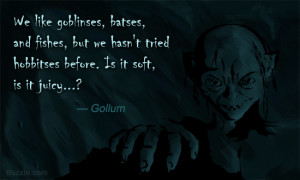 Quotes From the Hobbit Gollum