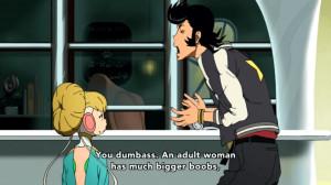 Ah, that heartwarming father-daughter dialogue