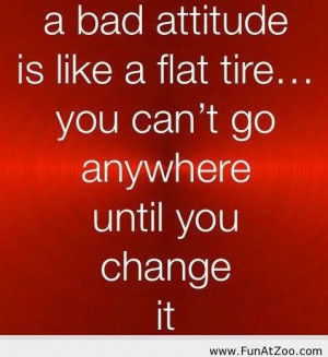 Funny 2014 saying about bad attitude