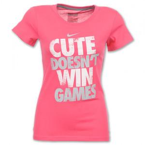 Nike T Shirt Sayings Women Nike attitude women's tee