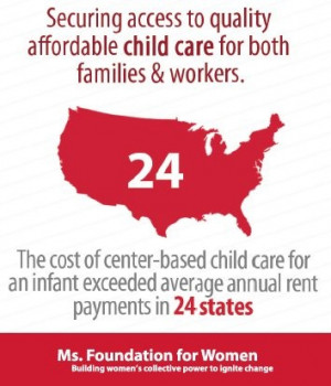 The cost of center-based child care for an infant exceeded average ...