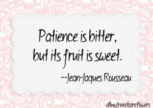 Patience Quotes HD Wallpaper 20