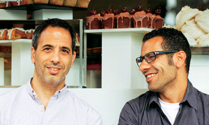 Yotam Ottolenghi with Sami Tamimi, picture by Keiko Oikawa in The ...