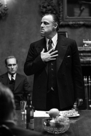 ) The Godfather - head of the 'family business' which is an Italian ...