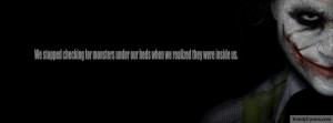 Facebook Cover Of Joker Famous Quote.