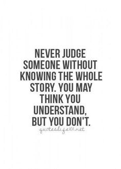 Quote about judgement More