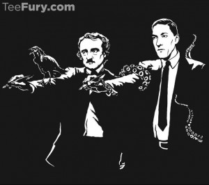 tee at Zebra Tees!11 Poe Lovecraft, Art Taste, Awesome Shirts, Horror ...