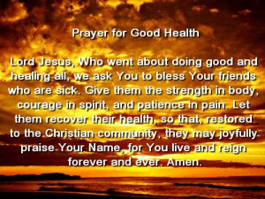 prayer for the sick to be healed | prayers for mental illness recovery ...