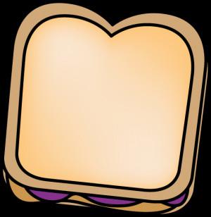 Peanut Butter Sandwich Clip Art