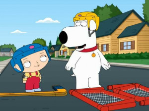 Fox screencap Brian Griffin was shockingly killed off