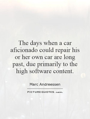 Car Quotes Marc Andreessen Quotes