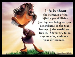 life quotes ugly duckling Life Quotes: The Infinite Possibilities